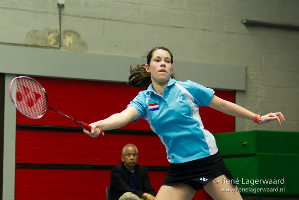 Cheryl Seinen in twee halve finales op de Turkey Junior