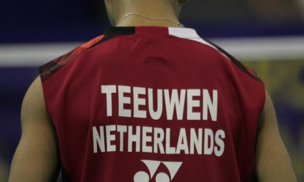 About Justin Teeuwen: 'Some Danish Coaches even went as far as comparing him to the great Taufik Hidayat of Indonesia not only in looks and appearance on court but with a back hand to die for'.