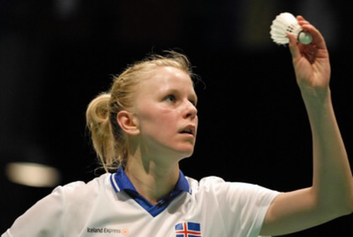 Top seeds in the singles category are Ragna Ingolfsdottir (pictured) of Iceland and Niluka Karunaratne of Sri Lanka.